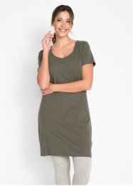 Stretch jurk met korte mouwen, bpc bonprix collection