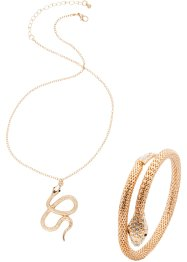 Halsketting+armband (2-dlg. set), bpc bonprix collection