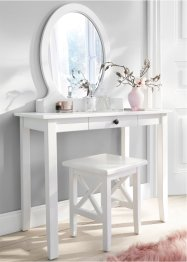 Toilettafel met ovale spiegel, bpc living bonprix collection