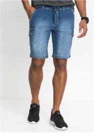 Jeansbermuda slim fit, RAINBOW