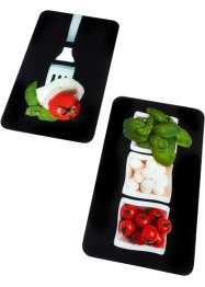 Fornuisafdekplaten «Caprese» (2-dlg. set), bpc living bonprix collection