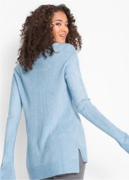 Oversized trui met zijsplitten, bpc bonprix collection