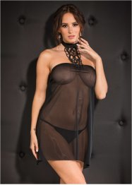 Slipdress+string (2-dlg. set)