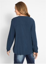 Viscose blouse met V-hals, bpc bonprix collection