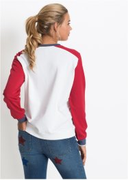 Sweater met print, RAINBOW