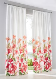 Gordijn met bloemenprint (1 stuk), bpc living bonprix collection