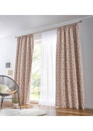 Transparant gordijn van jacquard, bpc living bonprix collection