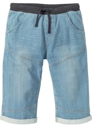 Lange jeans bermuda, loose fit, RAINBOW