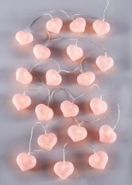 Led-lichtslinger «Cotton Heart», bpc living