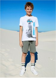 Sweat bermuda met zakken, bpc bonprix collection