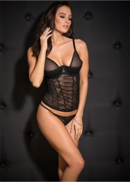 Bustier+string (2-dlg. set)
