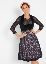 Dirndl met luipaardprint, bpc bonprix collection