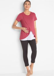 2-delige set: zwangerschapsshirt en broek, bpc bonprix collection