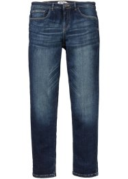 Slim fit stretch jeans met comfort belly fit, straight, John Baner JEANSWEAR
