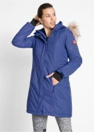 Warme outdoor jas met imitatiebont, bpc bonprix collection