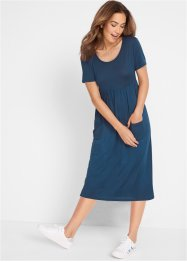 Maxi jurk met ronde hals, bpc bonprix collection