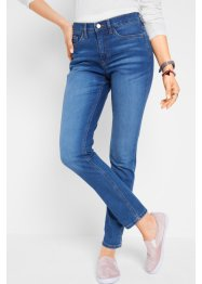 Duurzame jeans met gerecycled polyester, slim fit, bpc bonprix collection