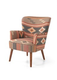 Fauteuil met etnoprint, bpc living bonprix collection