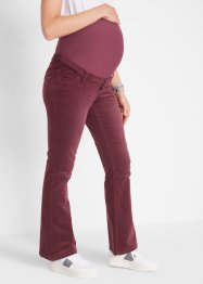 Corduroy zwangerschapsbroek, flared, bpc bonprix collection