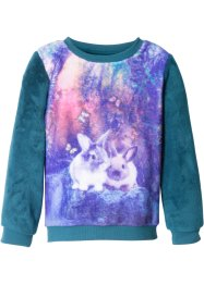Teddy fleece trui, bpc bonprix collection