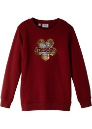 Sweater met omkeerbare pailletten, bpc bonprix collection