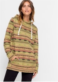 Lange sweater met etnoprint, RAINBOW