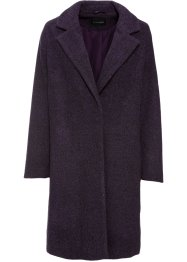 Korte coat in wollen look, BODYFLIRT