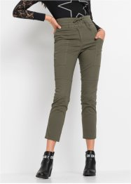 High waist broek met vetersluiting, RAINBOW