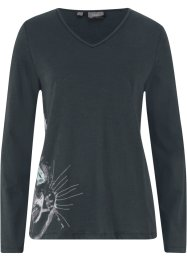 Longsleeve met poezenprint, bpc bonprix collection