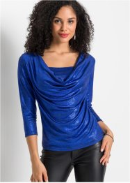 Shirt met watervalhals, BODYFLIRT