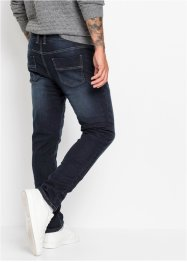 Thermojeans met fleece voering, slim fit straight, RAINBOW