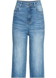 Two-tone denim culotte, RAINBOW