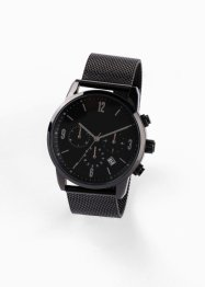 Chronograaf met mesh bandje, bpc bonprix collection