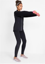 Thermo legging met reflecterende print, level 2, bpc bonprix collection