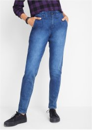 Stretch jeans met extra hoge band, John Baner JEANSWEAR