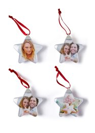 Fotohangers «Ster» (set van 4), bpc living bonprix collection