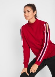 Sweatshirt met cut-outs van Maite Kelly, bpc bonprix collection