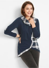 Sweater in dubbellaagse look, bpc bonprix collection