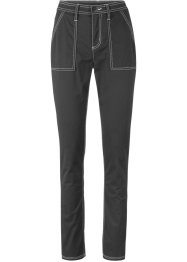 Broek met contrastnaden, slim fit, bpc bonprix collection