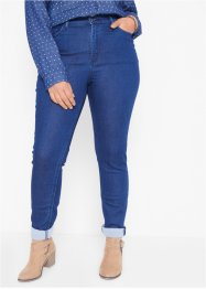 Skinny thermojeans met high waist, John Baner JEANSWEAR