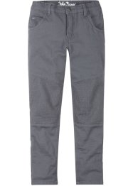Twill broek in bikerstijl, slim fit, John Baner JEANSWEAR
