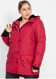 Parka met imitatiebont, bpc bonprix collection