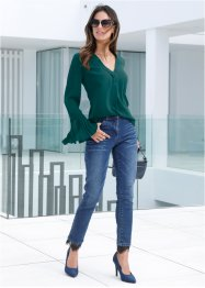 Stretch jeans met kant, bpc selection