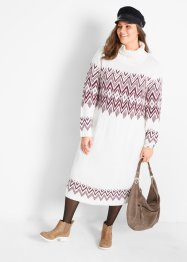 Maxi jurk met Noors patroon, bpc bonprix collection