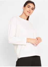 Sweater van piqué, lange mouw, bpc bonprix collection