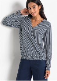 Blouse in wikkellook, BODYFLIRT