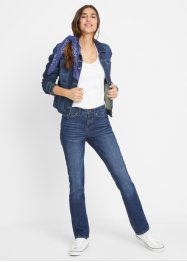Stretch jeans van klassiek denim, straight, John Baner JEANSWEAR