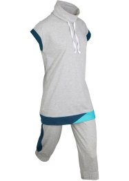 Longshirt en capri (2-dlg. set), bpc bonprix collection