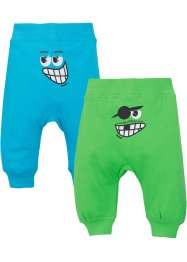 Sweatpants (set van 2), biologisch katoen, bpc bonprix collection