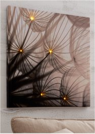 LED schilderij met paardenbloem, bpc living bonprix collection